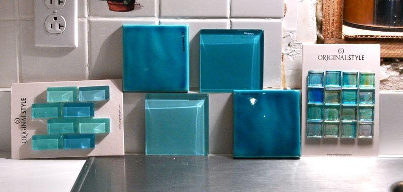Turquoise Gl Tile Backsplash Gallery Modern Flooring Pattern